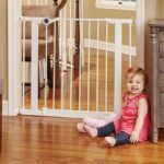 5 Simple Tips To Baby Gate First Years- Baby Girl and the North State Pressure Mounted Gate