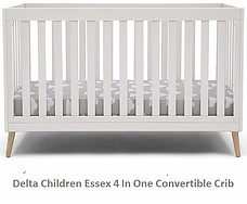 Delta Children Essex Convertible Baby Crib Furniture Set