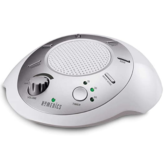 Best Sound Machines for Sleeping-Homedics White Noise Sound Machine