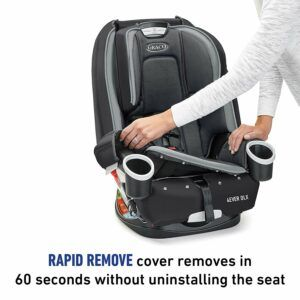 Graco 4Ever DLX 4 in 1 Car Seat- Rapid Remove Cover- My Mum and Daughter