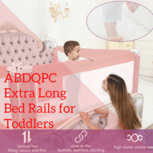 Bed Guard Rails for Children-ABDQPC Extra Long Bed Rails for Toddlers andfor All Size Bed