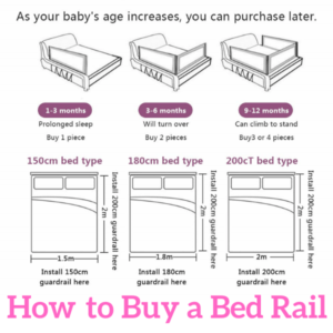 Bed Guard Rails for Children.