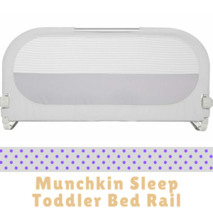 Bed Guard Rails for Children-Munchkin Sleep Toddler Bed Rail