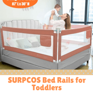 Bed Guard Rails for Children-SURPCOS Bed Rails for Toddlers
