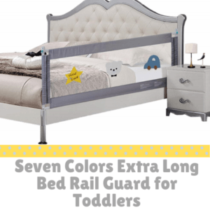 Bed Guard Rails for Children-Seven Colors Extra Long Bed Rail Guard for Toddlers