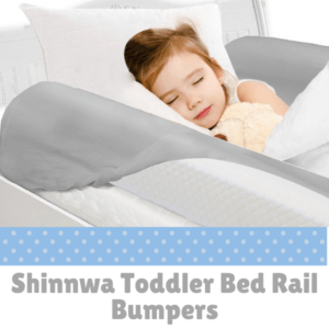 Bed Guard Rails for Children-Shinnwa Toddler Bed Rail Bumpers.