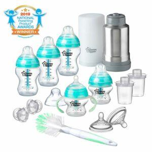 Best Baby Bottles Newborns - Tommee Tippee Advanced Anti-Colic Newborn Baby Bottle