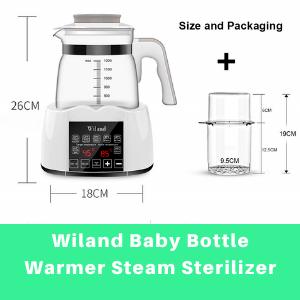 Best Baby Bottle Warmer and Sterilizer-Wiland Baby Bottle Warmer Steam Sterilizer