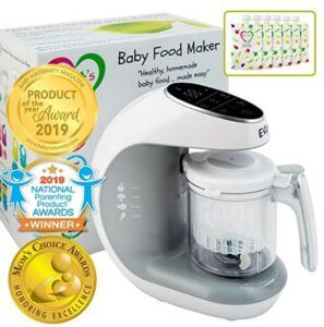 Best Baby Food Makers 2020- EVLA'S Baby Food Maker