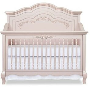 The Best Baby Cribs 2020- Aurora 5-in-1 Convertible Crib, Blush Pink Pearl