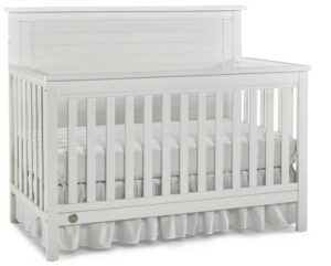 The Best Baby Cribs 2020-The Best Baby Cribs 2020Fisher-Price Quinn 4 in 1 Convertible Crib, Wire Brushed White