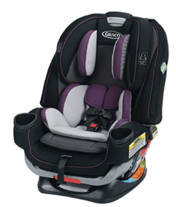 Graco Car Seats On Sale-Graco 4Ever Extend2Fit 4 In 1 Car Seat, Jodie