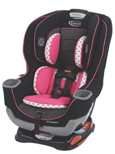 Graco Car Seats On Sale- Graco Extend2Fit Convertible Car Seat, Kenzie