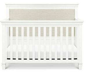 The Best Baby Cribs 2020-Million Dollar Baby Darlington 4-in-1 Convertible Crib, Warm White