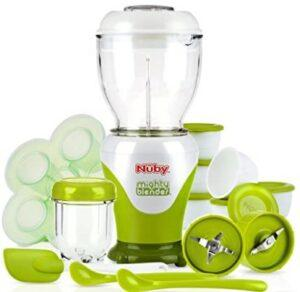 Baby Food Makers 2020-Nuby Garden 22 Piece Baby Food Maker Set