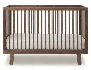 The Best Baby Cribs 2020-Oeuf Sparrow Crib, Walnut