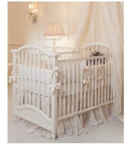 The Best Baby Cribs 2020-Park Ave Kids Baby White Wood Crib