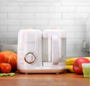 Baby Food Makers 2020-QOOC 4-in-1 Baby Food Maker Pro