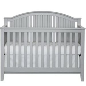 The Best Baby Cribs 2020-Suite Bebe Anaheim 4 in 1 Convertible Crib in Coastal Grey