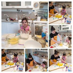 Toddler Cooking Activities-Preparing Easter Cookies With My Daughter -My Mum And Daughter