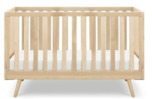 The Best Baby Cribs 2020- Nifty Timber 3-in-1 Crib, Natural Birch