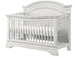 The Best Baby Cribs 2020-Westwood Design Arch Paneled 4 in 1 Convertible Crib, Olivia, Brushed White