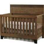 The Best Baby Cribs 2020- Design Urban Rustic Brushed Wheat, Convertible Crib