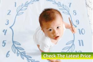 Personalized Newborn Baby Blankets-Classic Milestone Blanket