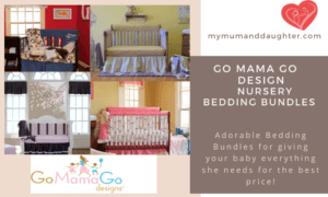 Go Mama Go Design Nursery Bedding Bundles-My Mum and Daughter