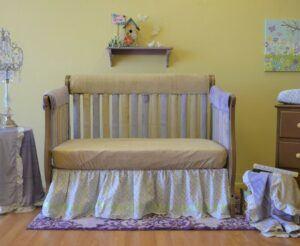 Nursery Bedding Bundles -Love Petals 10Pc Bundle