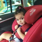 Britax Romer Car Seat Review - My Daughter on Evolva Car Seat