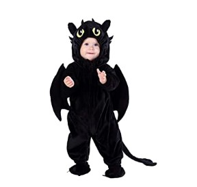 Funny Baby Halloween Costumes-Hsctek Night Dragon
