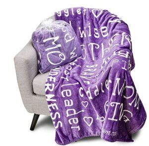 Mother And Daughter Gift Ideas-Blankiegram Mother Throw Blanket