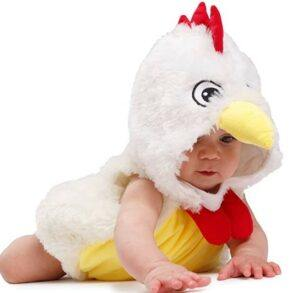 Funny Baby Halloween Costumes-Dress-Up-America Baby Rooster Costume - Infant Halloween Chicken Costume For Girls And Boys