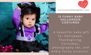 Funny Baby Halloween Costumes- My Mum And Daughter