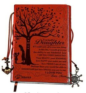 Mother And Daughter Gift Ideas-Mom To Daughter Gifts - Writing Journal, Personal Diary, Lined Journal, Travel notebook