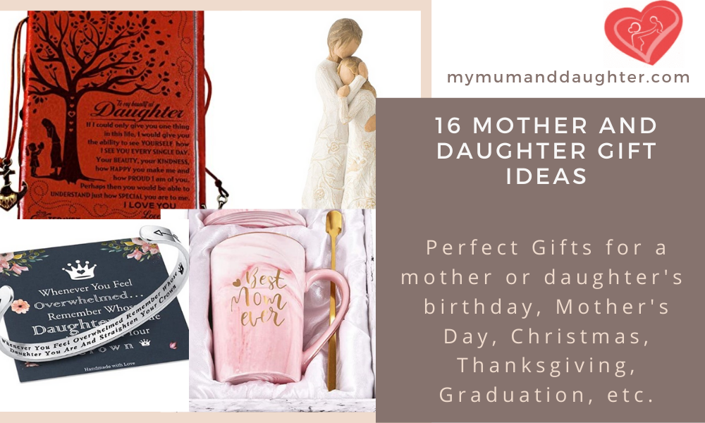 Mother And Daughter Gift Ideas-My Mum And Daughter