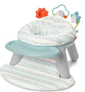 Top Rated Baby Flor Seats-Skip Hop Silver Lining Cloud Baby Chair
