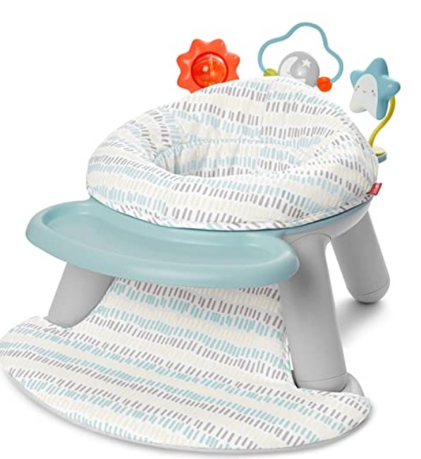 Top Rated Baby Floor Seats-Skip Hop Silver Lining Cloud Baby Chair