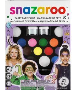 Halloween Arts And Crafts For Toddlers-Snazaroo Face Paint Kit Ultimate Party Pack, Multicolor