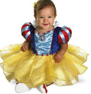 Funny Baby Halloween Costumes-Snow White Infant Costume