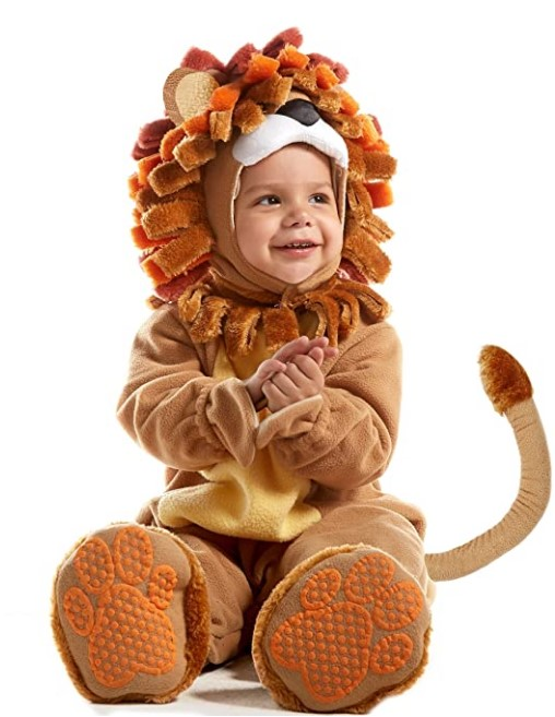 Funny Baby Halloween Costumes- Spooktacular Creations Deluxe Baby Lion Costume Set (6-12 Months)