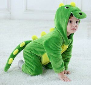 Funny Baby Halloween Costumes-Tonwhar Toddler Infant Tiger Dinosaur Animal Fancy Dress Costume
