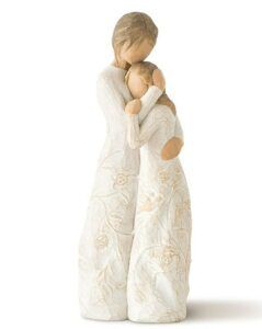 Mother And Daughter Gift Ideas-Willow Tree Close to me, Sculpted Hand-Painted Figure