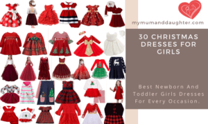 Christmas Dresses For Girls-My Mum And Daughter