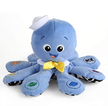 Best Christmas Toys For 2020-Baby Einstein Octoplush Musical Plush Toy, Ages 3 months +