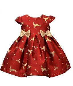 Christmas Dresses For Girls-Bonnie Baby Holiday Dresses Girls Christmas Dress
