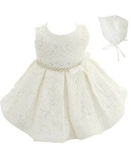 Christmas Dresses For Girls-Coozy Baby Girls Dress Infant Princess Christening Baptism Party Birthday Formal Dress