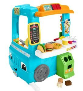 Best Christmas Toys For 2020-Fisher-Price Laugh & Learn Servin Up Fun Food Truck