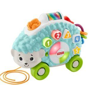 Best Christmas Toys For 2020-Fisher-Price Linkimals Happy Shapes Hedgehog
